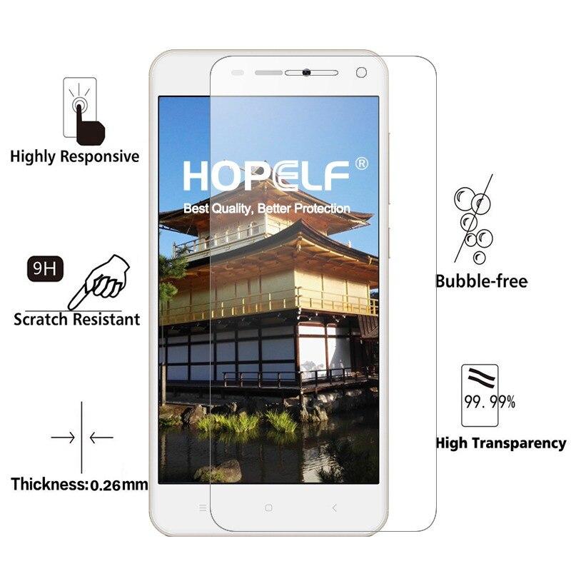 Image 2 - 2 шт HOPELF закаленное стекло для Xiaomi Redmi 4A стекло Защитная пленка для телефона для Xiaomi Redmi стекло 4A закаленное-in Защитные стёкла и плёнки from Мобильные телефоны и телекоммуникации on
