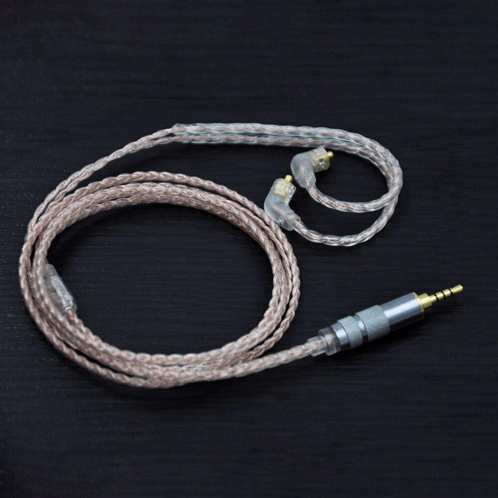 bilder für AK 4 Kern Silber Überzogene Kabel 2,5/3,5mm Ausgeglichen Kabel Mit MMCX Anschluss Für LZ A3 A4 DQSM GXX-X32