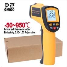 RZ Термометры ИК инфракрасный термометр тепловизор Ручной цифровой электронный открытый Бесконтактный гигрометр термометр