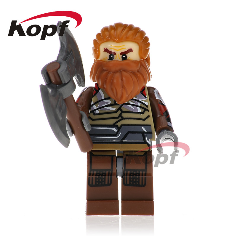 Single Sale Super Heroes Volstagg Grandmaster Hulk Thor Bricks Assemble Building Blocks Best Education Children Gift Toys XH 658 single sale super heroes red skull mandarin thor grandmaster valkyrja bricks action building blocks children gift toys xh 709
