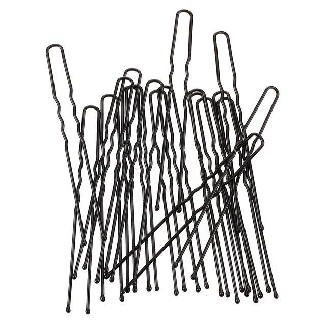 20 piezas 7 cm pasadores de pelo largos Barrette Clip de pelo accesorios Clip de pelo tachuelas Pro Metal Pince