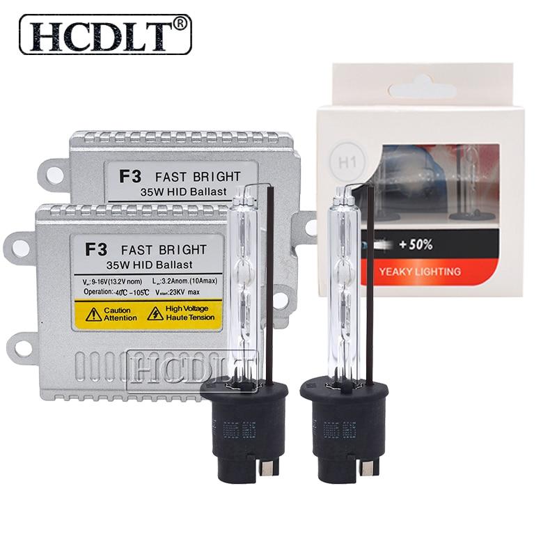 HCDLT Premium 35W 5500K H11 Xenon Yeaky HID Conversion Kit Xenon H1 H3 H7 HB3 HB4 D2H 4500K 6500K AC F3 Fast Start Ballast Kit