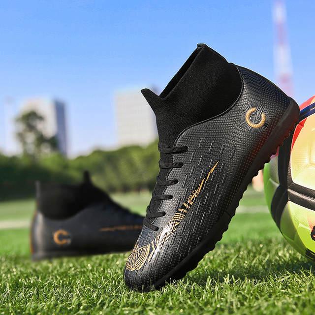 32fbf70b9 EAGLE Turf Futsal Boots Indoor Centipede Football Shoes Size 36-45 Kids Man