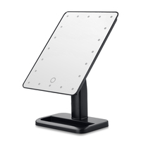 YOST 20LED Touch Screen Adjustable Tabletop LED Lighted Cosmetic Vanity Makeup Mirror