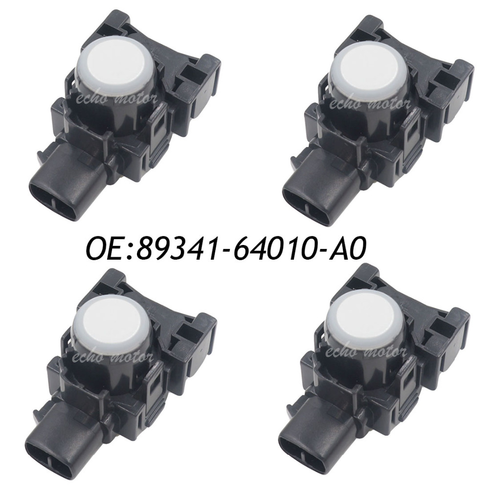 цены New 4PCS 89341-64010-A0 PDC Parking Sensor Reverse For Toyota 4Runner 2013-2014 4.0L 89341-64010
