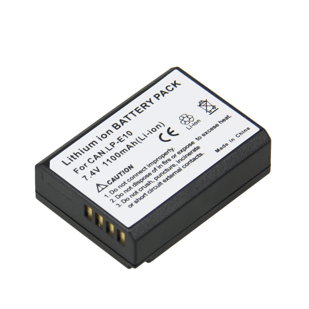 Tian Fen 1pcs LP-E10 LP E10 Rechargeable Camera Battery For Canon Camera 1100D Rebel T3 Kiss X50 LPE10