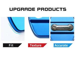 Image 2 - 4pcs Car Styling Auto Door Lock Cover Car Sticker Case For Infiniti FX35 Q50 Q30 ESQ QX50 QX60 QX70 EX JX35 G35 G37 EX3