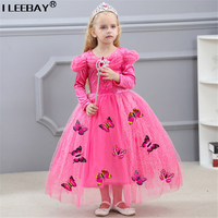 Kids Girls Top Quality Party Princess Cinderella Dresses Baby Halloween Christmas Cosplay Performance Dress Children Vestido