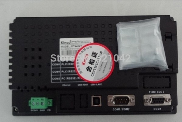 все цены на  7 Inch 800x480 HMI Touch Screen Kinco MT4404T New with USB program download Cable  онлайн