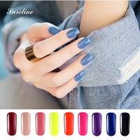 Saroline Art Gel UV Polish Soak Off ManicureNail Gel Coat Beautiful Shining Colors UV Nail Gel Polish Fashionable