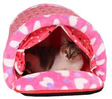 New design dogs cats fashion printing house doggy autumn winter beds puppy kennels pet dog cat nest supplies pets products 1pcs