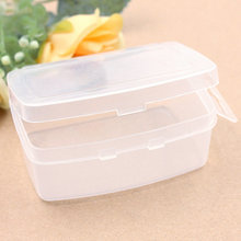 1PC Square space Storage Bottles & Jars Travel Vacations Jewelry Necklace pills Electronic materials and accessories Storage Box 1pcs transparent plum blossom travel vacations pills jewelry necklace pills electronic materials and accessories storage box