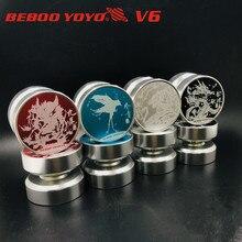Новинка Beboo v6 Профессиональный Йо-Йо s металлический йо-йо алюминиевый сплав йо-йо 10 подшипник Профессиональный Йо-Йо высокое качество Металл йо-йо Классические игрушки