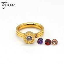 steel love Miniature rings