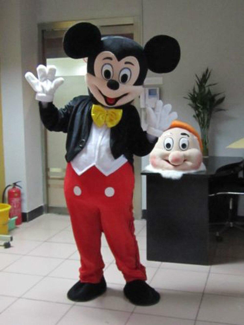 Disfraz de mascota de dibujos animados de Mickey disfraces de - Disfraces