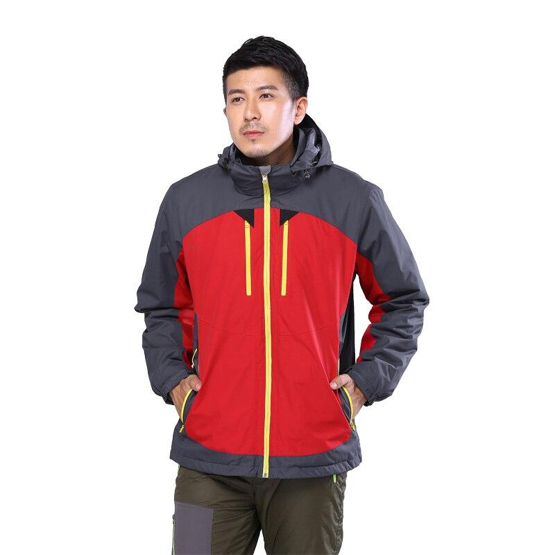 Softshell Outdoor Jacket with Heating Waterproof Men 3 in ...