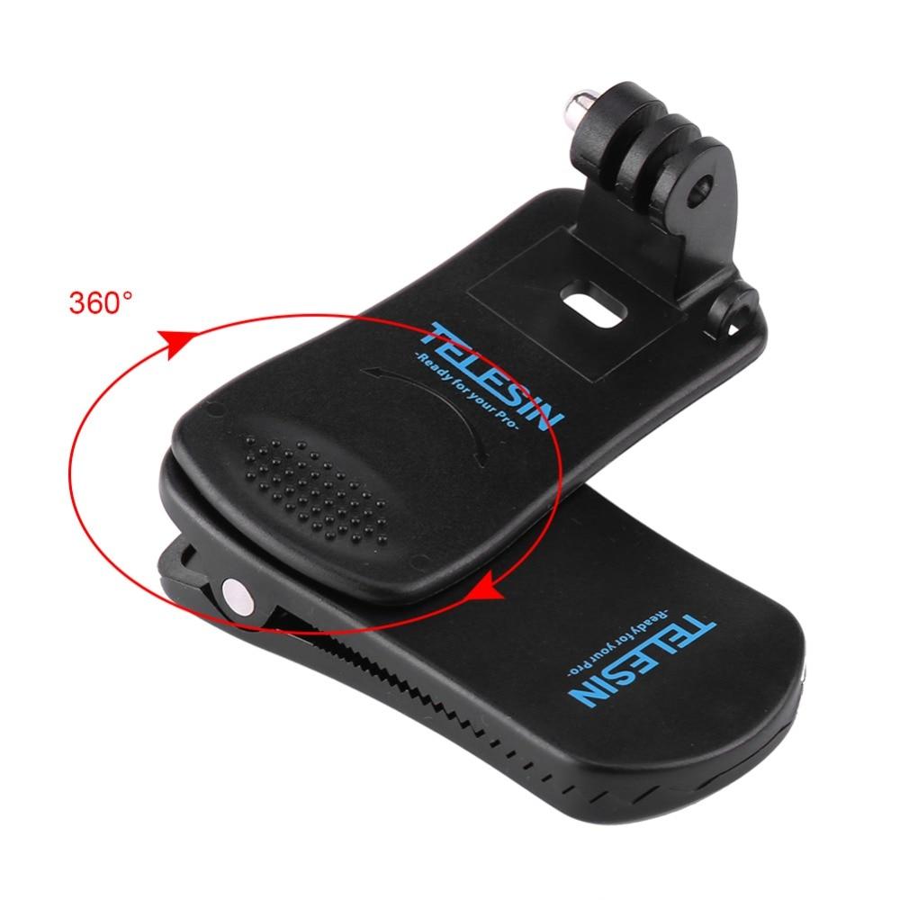for GoPro Sport Camera Backpack Mount Clip (4)