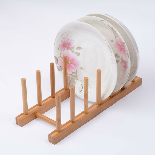 Platte Rack Halter Topf Deckel Gericht Kuche Organisieren Lagerung