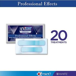 Image 3 - VIP 3D לבן Whitestrips שיניים הלבנת ערכת היגיינת פה אפקטים מקצועיים שיניים מוצרי טיפוח מקורי 40 רצועות 20 פאוץ