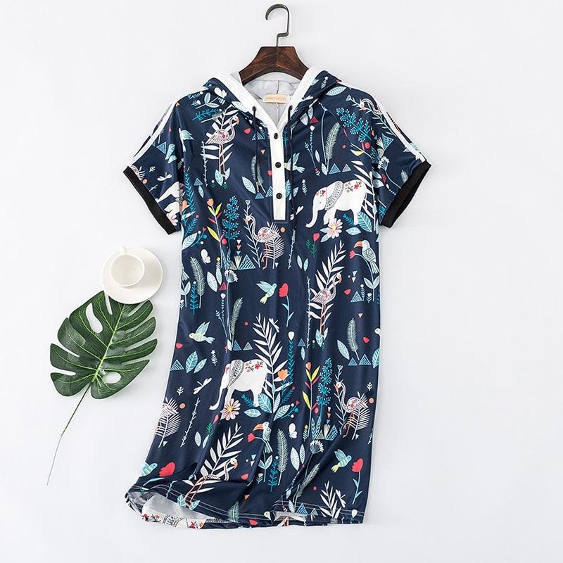 596f94b1b48 Plus Size 2XL 3XL 4XL 5XL Dress Women Blue Shirt Dress Cartoon Straight  Sweet V Neck. US  38.50. 3 orders. Push Up Bra Set 70 75 80 85 A B Half Cup  ...