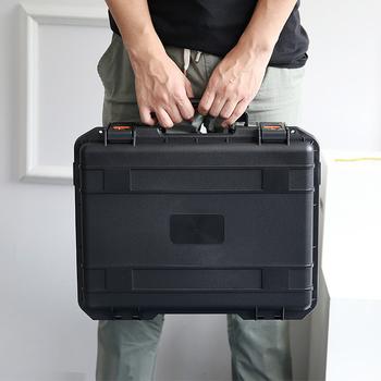 Nowe duże wodoszczelne pudełko do przechowywania przenośny futerał do przenoszenia bezpieczeństwa dla DJI Mavic 2 Pro Zoom Drone i akcesoria kontrolera tanie i dobre opinie Drone pudełka MV2-WFB96 1600g 41*33 5*13cm poosue for DJI Mavic 2 Pro zoom black