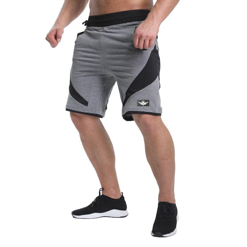 2018 جديد الصيف الرجال السراويل sporgyms - ملابس رجالية