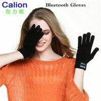 Calion مكالمات الهاتف دعوة نتحدث قفازات لمس الشاشة قفازات بلوتوث سماعة أزياء للجنسين الشتاء حك قفازات دافئة 3 ألوان