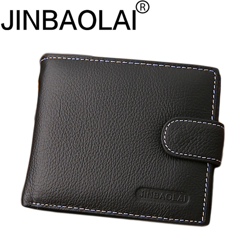 Genuine Leather Men Wallet Male Coin Purse Bag Card