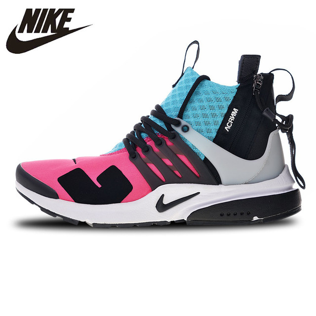 44947ff1b ACRONYM X NIKE AIR PRESTO MID Running Shoes Sneakers Sports Breathable  844672-100 for Men 40-45