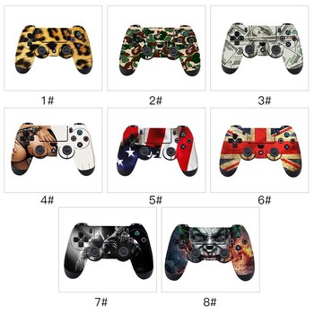For PS4 Console Game Skin Sticker Vinyl PlayStation Console and 2 Controllers Skins Decal Stickers Protective Cover Protector