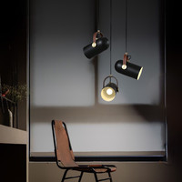 Nordic Minimalist Aluminum Led Pendant Light Restaurant Bar Kitchen Dining Room Luminaire Fashion Designer Lamp Home