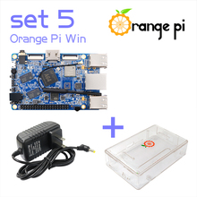 Orange Pi Win SET5: Pi Win+ Transparent ABS Case+ Power Supply Supported Android, Ubuntu, Debian