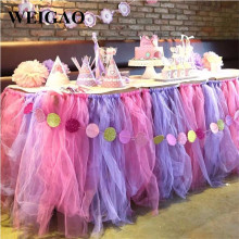 WEIGAO 1pcs Tulle Roll 15cm 25Yards Roll  Fabric Spool Tutu Party Gift Wedding Birthday Party Baby Shower Decoration Supplies
