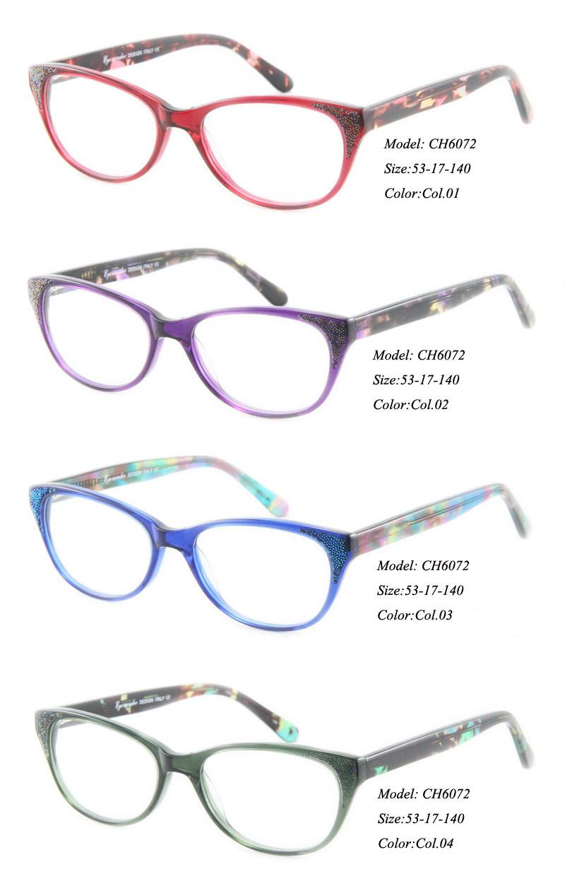 5bc90e866b51 Eye Wonder High quality Lady s Designer Fancy Handmade Acetate ...