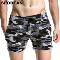 Men S Camouflage Shorts Casual And Sport Shorts Gym Sweatpants Fitness Men Bermuda Workout Outdoor Cotton