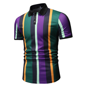 Image 4 - Mannen T Shirtpullover Slim Fit Kleding Nieuwe Mannen Casual Mode Polo Shirt Voor Zomer 2020 Polo Shirt Mannen