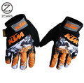 HotSale!KTM Knight  Wearable Protective Motorcycle Gloves Racing Men Full Finger Moto Guanters Motocross Motorbike Gloves Winter