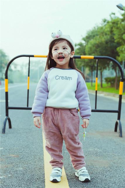 Primavera autum infantil bebê recém-nascido do menino calças do bebê meninas leggings calças meninos harem pants calças de Algodão quente de lã grossa Para A Criança