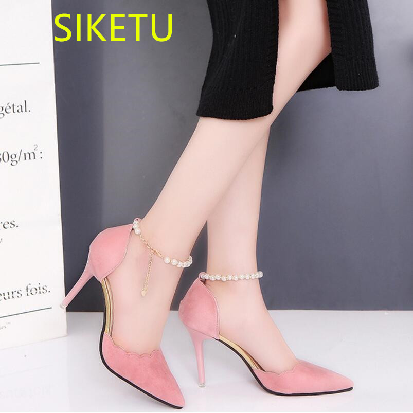 SIKETU Free shipping Spring and autumn women shoes Fashion high heels shoes summer wedding shoes pumps g244 2018 sandals 2017 free shipping siketu spring and autumn women shoes fashion high heels shoes wedding shoes pumps g174 summer sandals