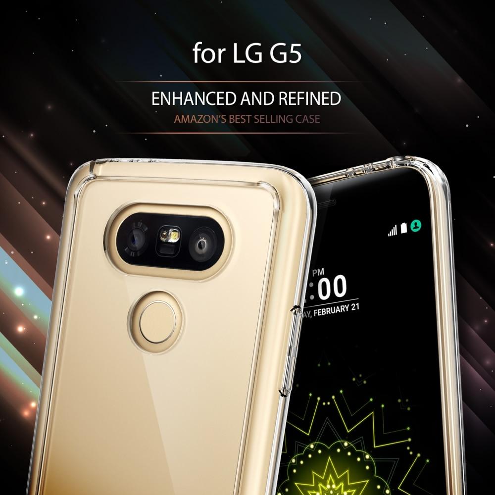 bilder für 100% Original Ringke Fusion Fall für LG G5-Premium Kristall Hartplastik Rückseite Soft TPU Rahmen Fällen für LG G5