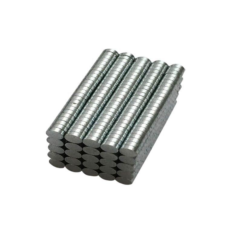 Объемный небольшой круглый 200/100 шт неодимовые магниты NdFeB диаметром 3 мм x 1 мм N35 супер мощный редкоземельный магнит NdFeB