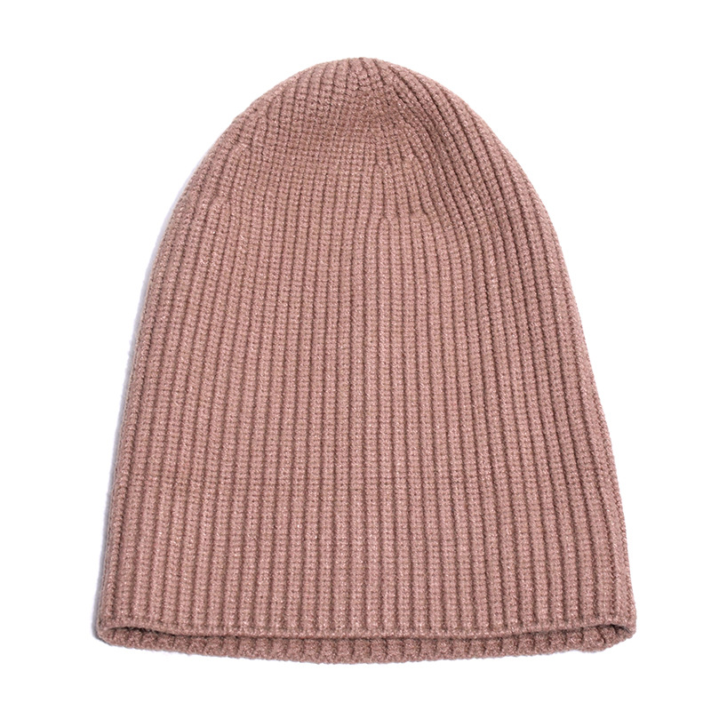 b0b08630d4c High Quality White Winter Beanies Hat For Ladies Cashmere Skullies   Beanies  Women Mens Female Fashion Solid Casual Hats Caps Material Cashmere