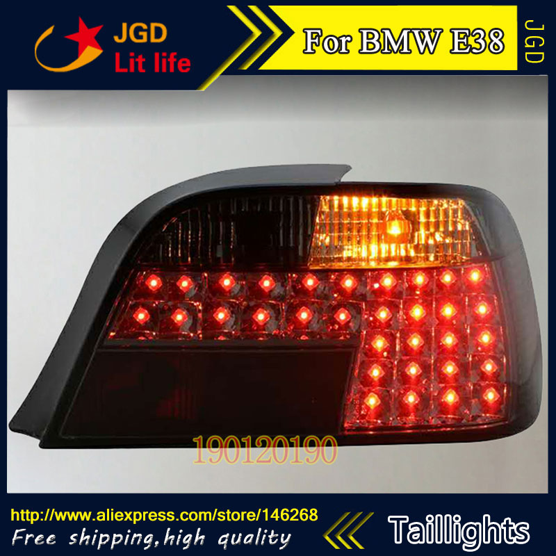 tail lights for BMW E38 728 730 735 740 750 1998-2002 LED taillight Tail Lamp rear trunk lamp cover drl+signal+brake+reverse tail lights for benz w204 c180 c200 c230 c260 2007 2010 led taillight tail lamp rear trunk lamp cover drl signal brake reverse