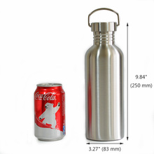 Colorful Leak-Proof Stainless Steel Fishing Water Bottle with Neoprene Sleeve