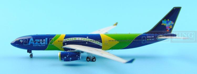 11102* Azul A330-200 PR-AIV Linhas Aeres 1:400 Phoenix commercial jetliners plane model hobby new phoenix 11200 european wing aviation d axga 1 400 a330 200 commercial jetliners plane model hobby