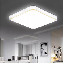Ultra-thin surface mount LED ceiling light 12 / 24W modern for living room bedroom dining
