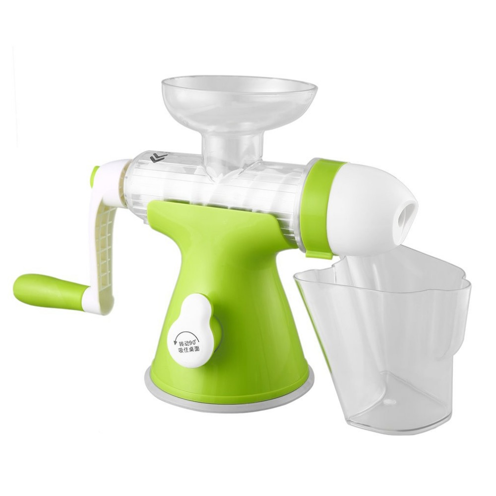 Manual Hand Crank Health Juicer Maker Slow Grinding Juicer for Home & Office Fruits Vegetables Juice Extractor цена 2017
