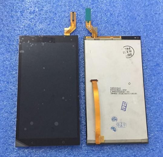 Tela lcd + painel de toque digiziter para htc desire 700 d700 7088 7060 dual sim preto frete grátis