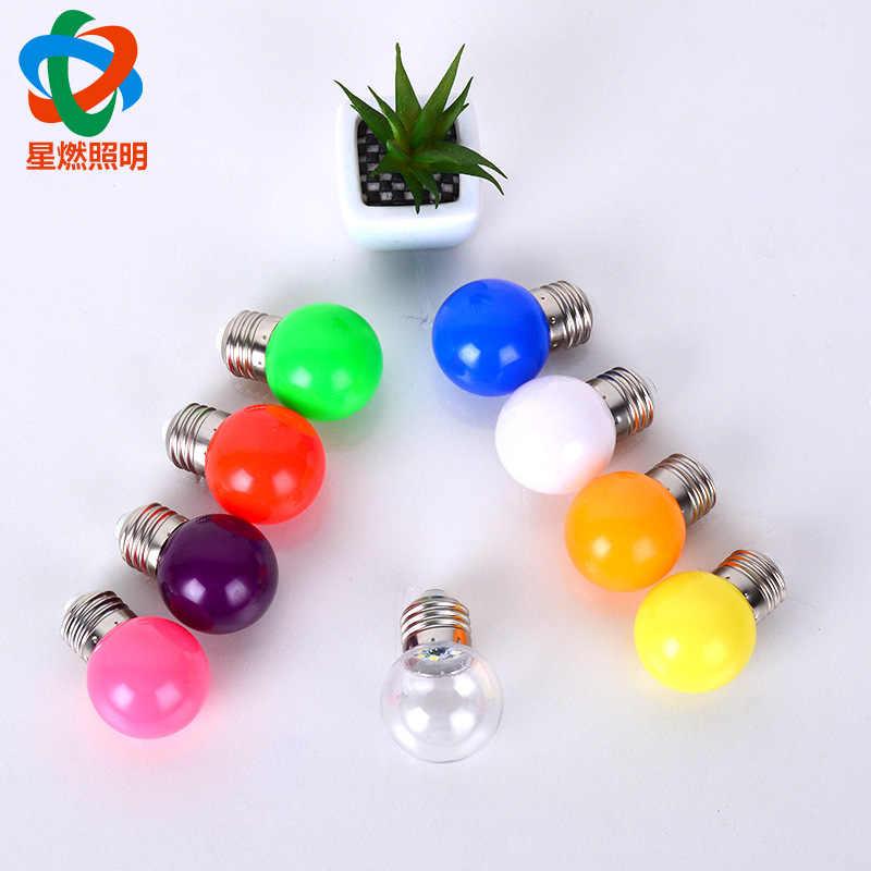 Couleur décoration LED E14 lampe à LED E27 LED ampoule AC 220V 230V 240V 15W 12W 9W 6W 3W Lampada LED projecteur lampe de Table lampes lumière