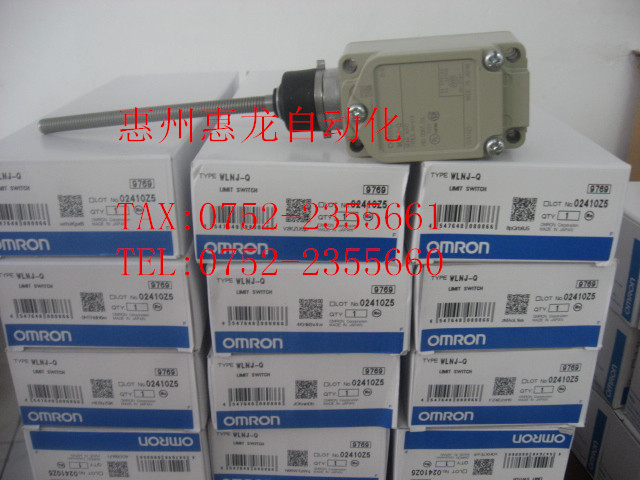 [ZOB] 100% brand new original authentic Omron omron limit switch WLNJ-Q  --5PCS/LOT free shipping 1pcs lot original japanese limit limit wlnj